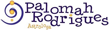 Logotipo Palomah Rodrigues Astróloga